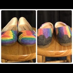 🌈 Upcycled American Eagle Flats 🌈